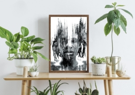 African - Plakat