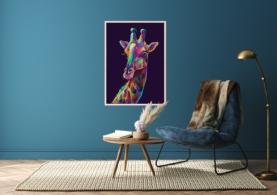 Giraf - Plakat