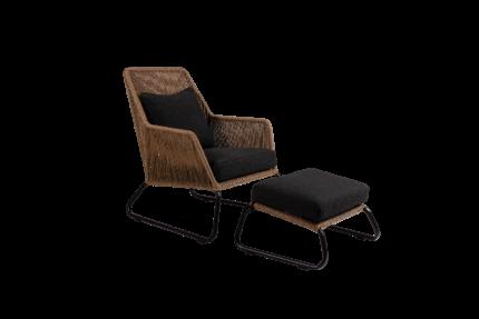 Midway Lænestol med skammel