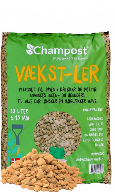 Champost Vækst-Ler 10L