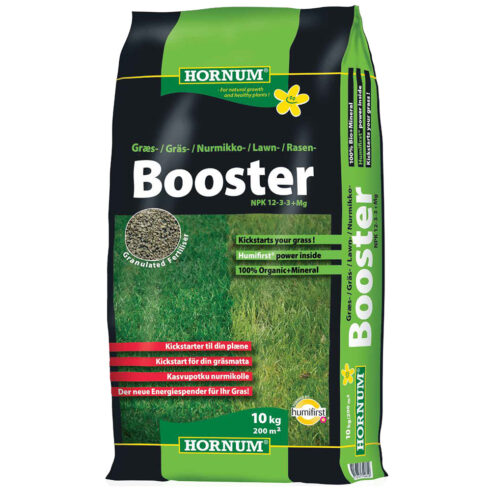 Hornum Booster Plænegødning 10 Kg