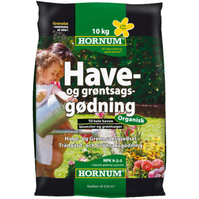 Hornum Have- Og Grøntsagsgødning 10 Kg