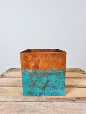 Lille skjuler - kobber/blå