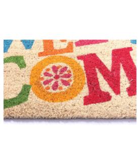 "Kokosmåtte ""Welcome"" med flere farver"