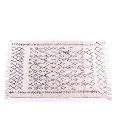 Flot bomuldstæppe med mønster fra Lafinesse.