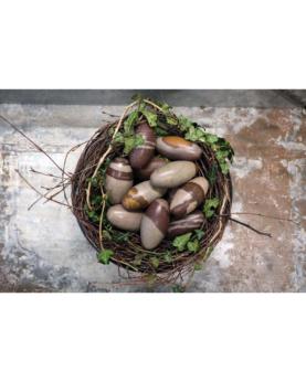 Smukt æg i marmor - small