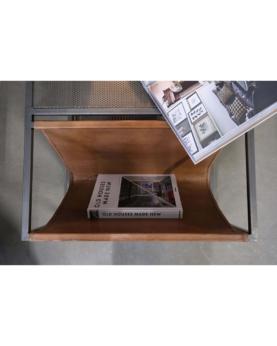 Capone sofabord med jernbordplade