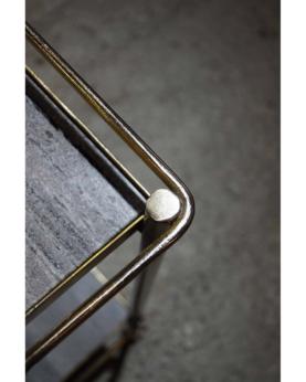 Cully rullebord med smukke marmorplader