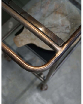 Antonio rullebord med glasplader