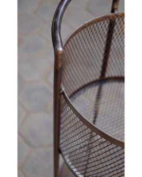 Madison trolley med rå perforerede kurve