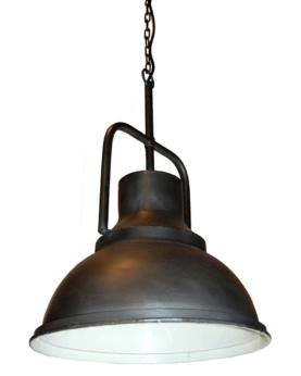 Liam loftpendel i fabriksstil - zink