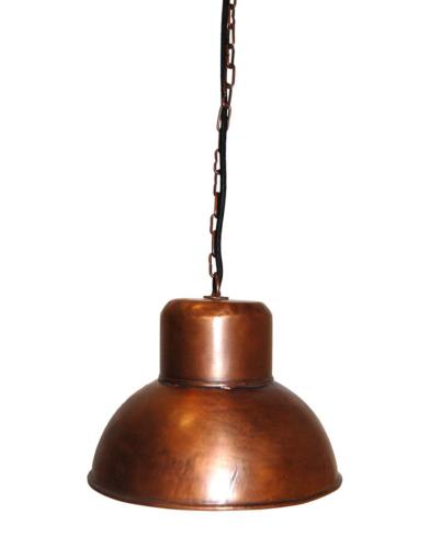 Alma loftlampe - antik kobber