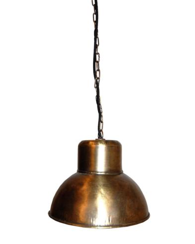Alma loftlampe - Antikmessing