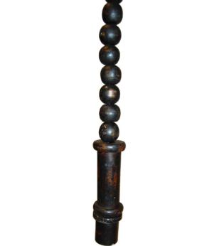 Bruce hængelampe i træ - antiksort