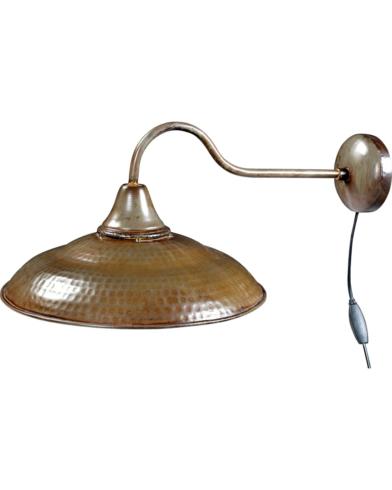 Frigg væglampe - jern med klar lak