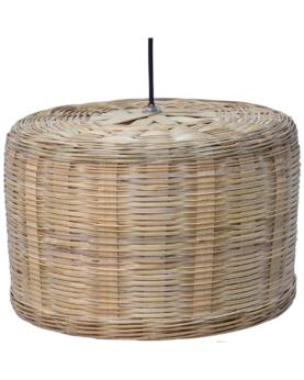Natura loftlampe i naturfarvet bambus - medium