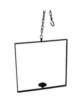 Sergi lysestage - Kvadratisk