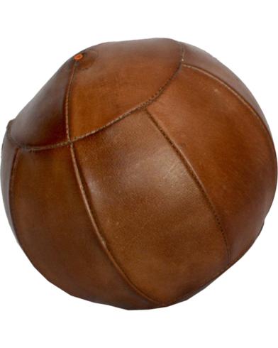 Læderbold - large