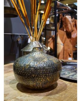 Boston rund buttet vase