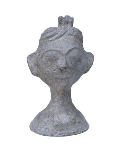 Sharam papmaché hoved - kvinde