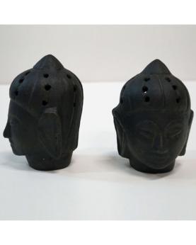 Buddha hoved i ler