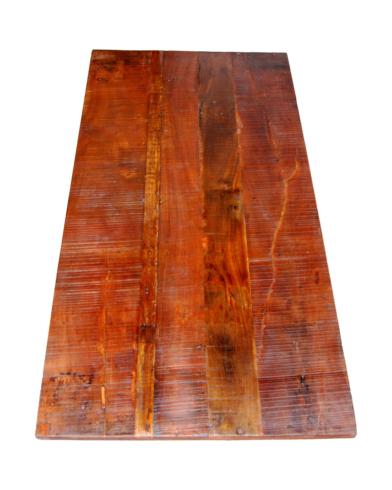 Amadeus bordplade af genbrugstræ - lang