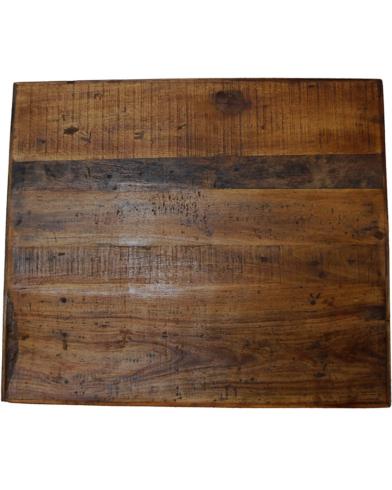 Amadeus bordplade af genbrugstræ 60 x 70 cm